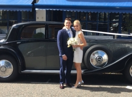 Vintage Rolls Royce wedding car hire in Richmond